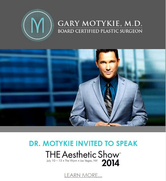 dr. motykie speaker the aesthetic show