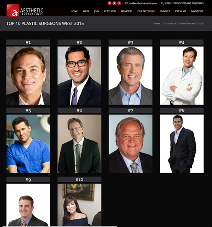 Posted in in the news plastic surgery tagged top plastic surgeon
