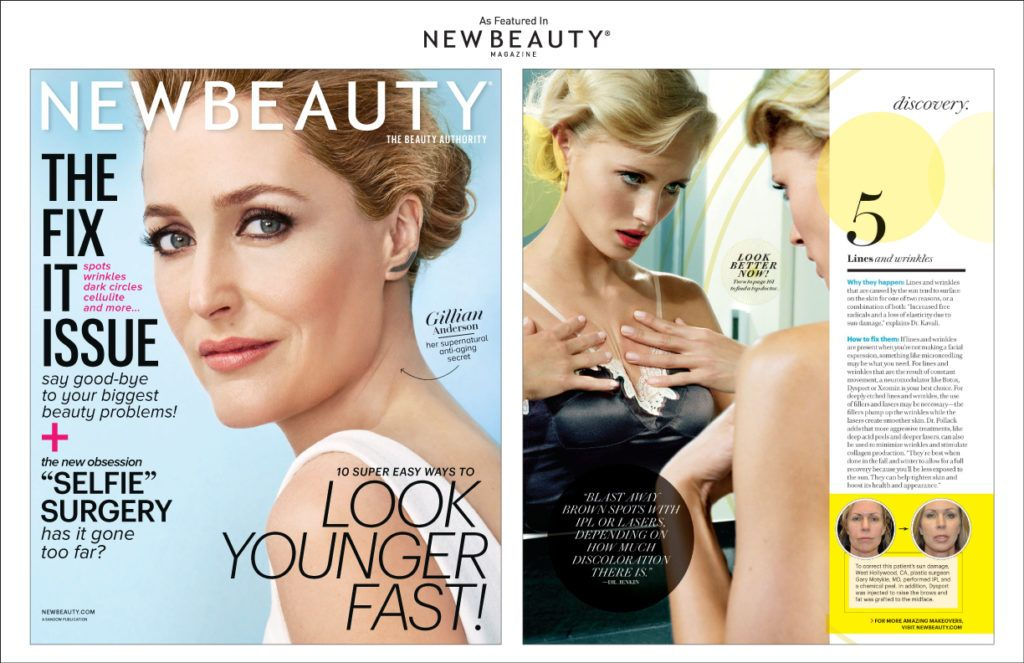 Dr Motykie New Beauty Magazine