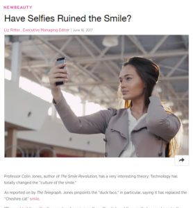 have selfies ruined the smile