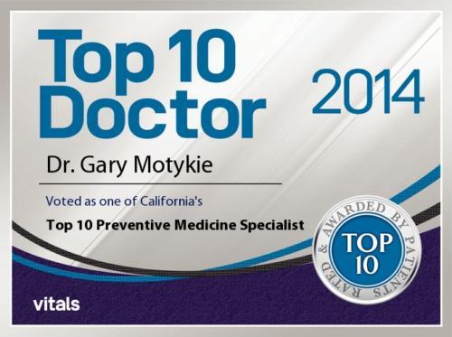 2014 Vitals Top 10 Preventive Medicine Specialist